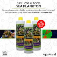 Aquapharm 5in1 Coral Food 500ml Sea Plankton Rotifers 5 in 1 / 500 ml