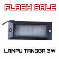 Lampu Tangga 3 watt Minimalis Inwall Light 3w Inbow Wall Lamp Outdoor