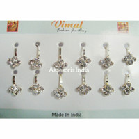 Anting Hidung India Jepit   Nose Clip Nose Ring   AHI11