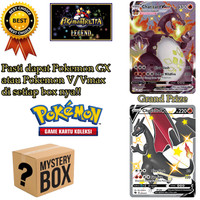 Mystery Box Kartu Pokemon Indo - Pokemon GX Pokemon V Pokemon V-MAX