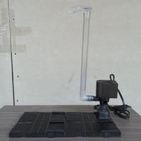 PAKET FILTER/UNDERGRAVEL KIT/PAKET FILTRASI AQUARIUM 40-60 cm