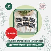 SL - Bundle Miniboard Stand (3pcs)