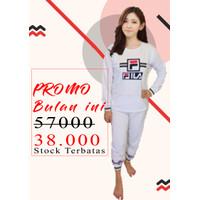 Baju Tidur Wanita / Piyama Wanita / Setelan Piyama Fila PP 01/ Pajamas