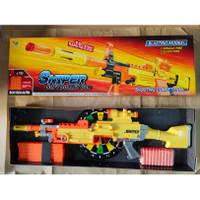 nerf sniper soft bullet gun - Kuning
