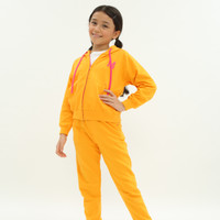 Yellow Hoodie + Jogger Pants Sets