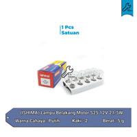 Lampu Stop S25 S25 12V 21/5W Motor 1PC - Ishima