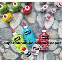 Glitter Glue Dextone Lem Gliter Prakarya Art and Craft Bisa Jadi Slime
