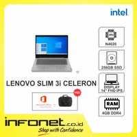 LENOVO SLIM 3i-14IGL05(N4020/4GB/256GB/INTEL UHD/14/W10+OHS)