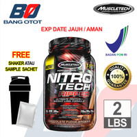 Nitrotech RIPPED 2 Lbs BPOM Susu Whey Muscletech Nitro Tech RIPPED 2Lb