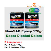 Lem Anti Bocor Dextone 170gr Untuk Kolam Bak Toren Rembes Dempul Kapal