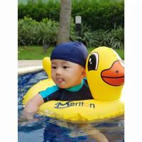 Ban Renang bayi Baby Float Duckies Swim Seat Meriton 1920 - Ban Duduk