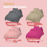 Kintakun Bed Cover 160 Queen Dluxe Embossed Edition Microtex