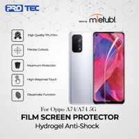 Oppo A74 / A74 5G - MIETUBL Hydrogel Anti Gores Not Tempered Glass - A74, Clear Depan