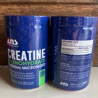 ans creatine 300 gram monohydrate suplemen otot muscle nitro combat xt