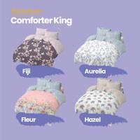 Kintakun Comforter 180 King Dluxe Flower Edition Microtex