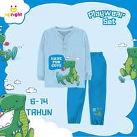 Set Baju Main Anak Biru by Upright