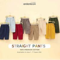 Celana Anak Boy Girl Straight Pants Ardenleon - Baju LEBARAN KELUARGA