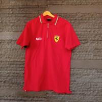 ferrari official product polo shirt