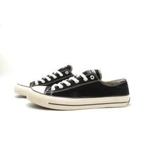 Sepatu Sneakers Casual Lucky Star AF1 Low Black Natural