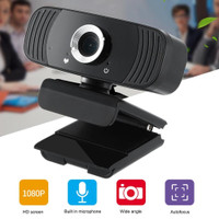 Mnycxen HD Webcam Desktop PC Laptop Video Conference 1080P with Mic