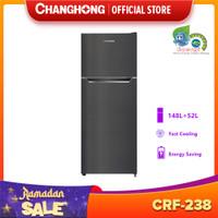 CHANGHONG Kulkas 2 Pintu 200L Black CRF-238
