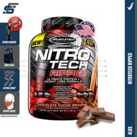 Muscletech Nitrotech Ripped 4lbs 4 lbs Nitro tech Muscle Tech