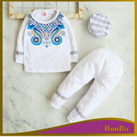 Koko Baju Anak Bayi laki laki cowok Usia 6 Bulan - 2 tahun kode 04