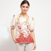 Blouse Julie Batik Merah