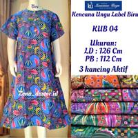 Baju tidur wanita/Daster Kencana Ungu 04 Label Biru (100% Original)