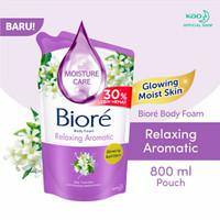 Sabun Biore Cair Relaxing Aromatic 800 ml
