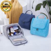 Tas Toilet Kosmetik Travel Organizer Bahan Denim M602