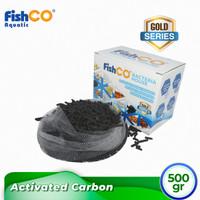 Activated Carbon/ Filter Karbon Aktif 500gr + Filter Bag