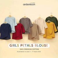 Baju Anak Girls Petal Blouse Ardenleon Baju LEBARAN SET KELUARGA
