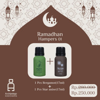 Parsel Ramadan Lebaran Hampers 01 isi 2 botol Essential Oils