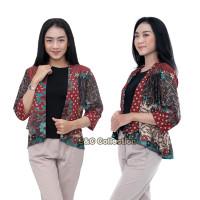 Batik Wanita Bolero Aurora - Atasan Batik Wanita – Outer Batik - S