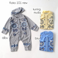 Baju Muslim Bayi Romper Jumper Koko Bayi Newborn 108