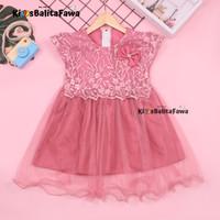 Gaun Bella Uk 2-3 tahun / Dress Balita Perempuan Baju Gaun Anak