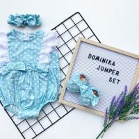 DOMINIKA JUMPER SET jumper bayi jumper anak baju bayi BABEEBABYSHOP