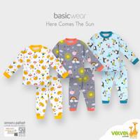 NEW Velvet Junior Here Comes the Sun Setelan Piyama Anak Pakaian Baby