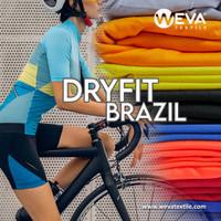 Bahan Kain Jersey Dryfit Brazil - Kain Drifit Weva Textile
