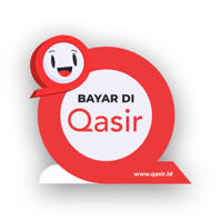 Sign Standing Akrilik Bayar di Qasir/Bayar di Qasir/Standing Akrilik