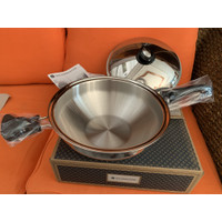 Gourmet wok 5qt titanium saladmaster
