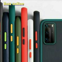 Infinix Note 8 Case Matte Transfran Slim Fuze Macaron