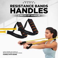 SVARGA Resistance Band Foam Handles 2 Pieces for Resistance Tubes