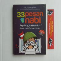 BESTSELLER BUKU ORIGINAL Buku 33 pesan nabi volume 3 buku komik islam