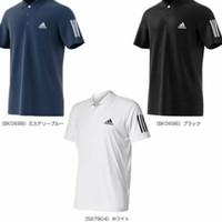 Polo shirt - kaos kerah Adidas strip grade ori