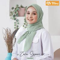Hijab Segi Empat 120 X 120 Bahan Voal Superfine NIBRAS Zafia Square