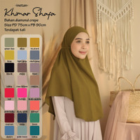 ISRM Khimar Hijab Shafa Instan Dewasa Bahan Diamond Crepe Premium