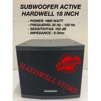 Subwoofer Aktif Hardwell 18 Inch ORIGINAL