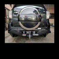 towing bar arb mobil rush terios model melengkung